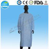Vestido cirúrgico descartável de SMS com pacote estéril