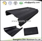 Profilo di alluminio dell'espulsione 6063 T6 per il radiatore dell'audio strumentazione dell'automobile