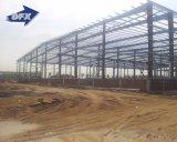 低価格は50年フレームの使用の生命の鉄骨構造の組立て式に作られた倉庫に電流を通した
