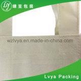 Sacchetto di Drawstring tessuto pp impaccante personalizzato plastica riciclato del sacchetto di acquisto del Tote del panno, sacchetto laminato
