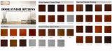 Panneau en acier inoxydable texturé / lisse à l'intérieur en PVC en stratifié