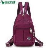 Populäre doppelte Schulter-Schultaschen-Form-tägliche kundenspezifische Dame Backpack