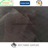 Ткань 100% платья ткани полиэфира 75D черная шифоновая плиссированная