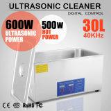 30L Ultrasone Reinigingsmachine van het Roestvrij staal van de Tijdopnemer van de verwarmer de Digitale