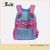O melhor nylon impermeável cor-de-rosa popular caçoa sacos de escola para meninas