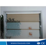 3-6 mm claro vidrio laminado templado tintado/vidrio persiana para Windows