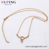44612 Halsband Zircon van Xuping van de manier de Verguld Vrouwelijke 18K in de MilieuLegering van het Koper
