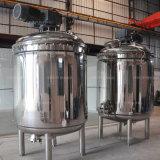 Réservoir de mélange de pression verticale de vide d'acier inoxydable