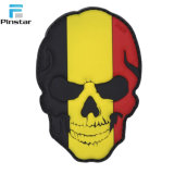 Custom светятся в темноте черепа Grateful Dead мягкие резиновые ПВХ патч