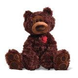 Urso por atacado da peluche do luxuoso para os presentes 2018 do dia do Valentim