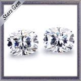 도매가 대 9X7 긴 방석 Moissanite 최상 다이아몬드