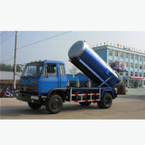 Dongfeng 190HP 10m3 Vacuum Suction Septic Removal Truck
