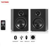 Super Bass Bluetooth artesanais 4.2 Natureza sem fios em casa de madeira Studio Altifalantes de áudio