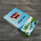 Cartas de jogo crianças jogando cartas placas educativas