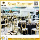 椅子を中国製食事する耐久の家具のステンレス鋼フレーム