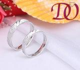 Anillos conocidos personalizados de la plata esterlina del anillo 925 de la promesa de Birthstone