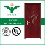 Конструкция двери PVC строительного материала