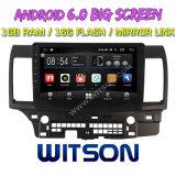 "Grand écran 10,2"" Witson Android 6.0 voiture DVD pour Mitsubishi Lancer 2010-2016"