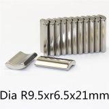 Постоянный металлокерамические Редкоземельные неодимовый магнит Arc N42