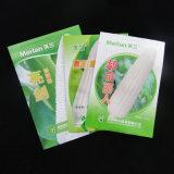Lados impressos do material 3 do LDPE que selam sacos impressos semente da folha