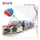 액티브한 PVC 장 기계를 만드는 플라스틱 기와