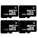 De Capacity8GB micro SD mini SD cartão real do cartão 1GB 2GB 4GB & cartão 16GB Class10 do TF