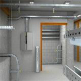 Tamanhos perfurados de aço galvanizados da bandeja de cabo/escada/sustentação/ponte para edifícios e Inductry