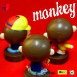 Jouet d'estampille de générateur de note de singe avec l'estampille de Individu-Tracé