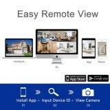 720p 1MP 4CH 무선 WiFi 감시 NVR 장비 안전 CCTV 감시 사진기