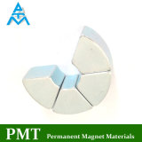 N38uh Segment NdFeB Magnet with Neodymium Magnetic Material for Motor