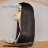 Peluca hecha a máquina del pelo humano de las tramas (PPG-l-01620)