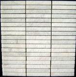 Mosaico de mármol blanco para la cocina