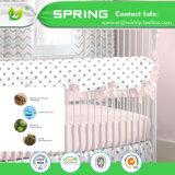 가정 침구 아기 면 및 폴리에스테는 100%년 어린이 침대 매트리스 Encasement를 방수 처리한다