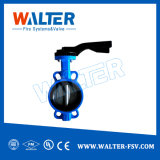 China Tipo Wafer 6 polegada a Válvula Borboleta Pn10/Pn16