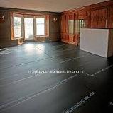 Feuille de carton ondulé en PP noir/Corflute feuilles en plastique pour l'étage&protection murale