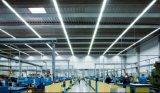 Dlc는 실내 점화 알루미늄을%s 돌릴수 있는 끝을%s 가진 LED T8 관을 목록으로 만들었다