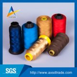 Fio para confeção de malhas de linha Sewing do bordado do fio da tela do poliéster para calças de brim