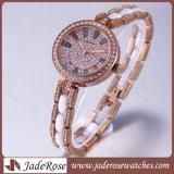 Nuova vigilanza del braccialetto dell'acciaio inossidabile dell'orologio della signora Fashion di stile