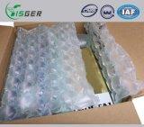 O comércio electrónico usou o empacotamento enchido ar dos sacos plásticos de bolhas