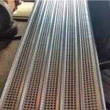 El metal expandido galvanizada malla Malla de costilla de alta