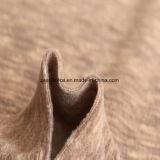 陽イオンの印刷の効果のマイクロ羊毛、ジャケットファブリック(sandybrown)
