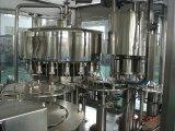 Завод автоматической минеральной вода бутылки любимчика заполняя и покрывая
