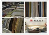 Le linge de couleur chameau canapé tissus fabriqués en Chine