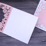 La mejor calidad de impresión láser a color de estilo de tarjeta de invitación personalizada