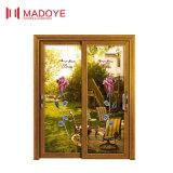 Portello scorrevole interno del grano di legno con vetro Tempered per la veranda