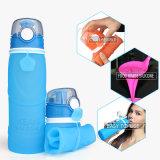 Бисфенол-А Squeezable съемные силиконового герметика на открытом воздухе спорт складная бутылка воды