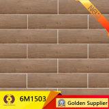 azulejo de suelo de cerámica de madera de 150X600m m (6P022)