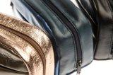 Vente en gros du nouveau produit 2017 faite à l'usine pour la promotion Shinning le sac cosmétique d'unité centrale avec la tirette pour le cadeau