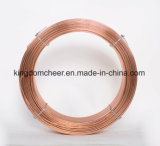 Enduits de cuivre ER70S-6 solide sur le fil de soudure avec certificat