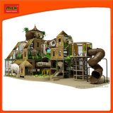 安全多彩でいたずらな城の子供の商業屋内運動場装置、販売のための子供の屋内運動場